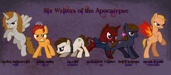 Six Writers of the Apocalypse