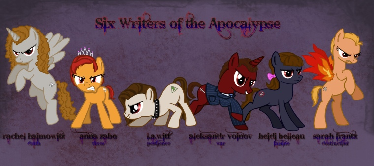 Six Writers of the Apocalypse