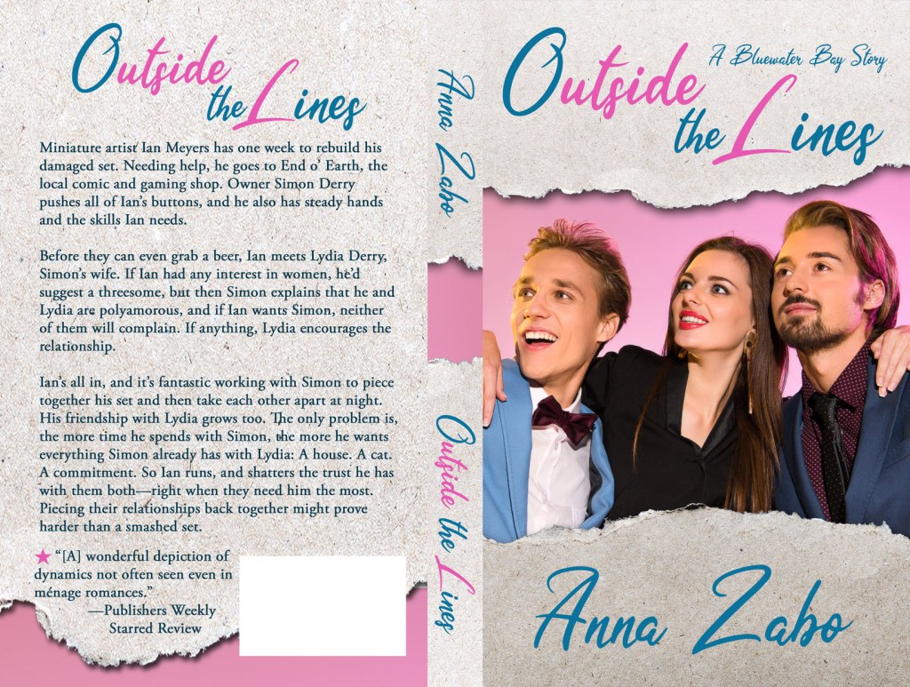 Print cover for Outside the Lines